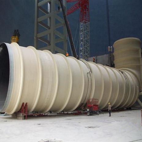 大型玻璃钢烟囱3大商品特点